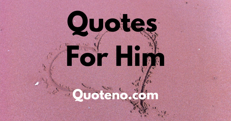 cute quotes for him about love