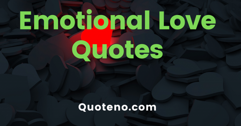 emotional quotes on Love