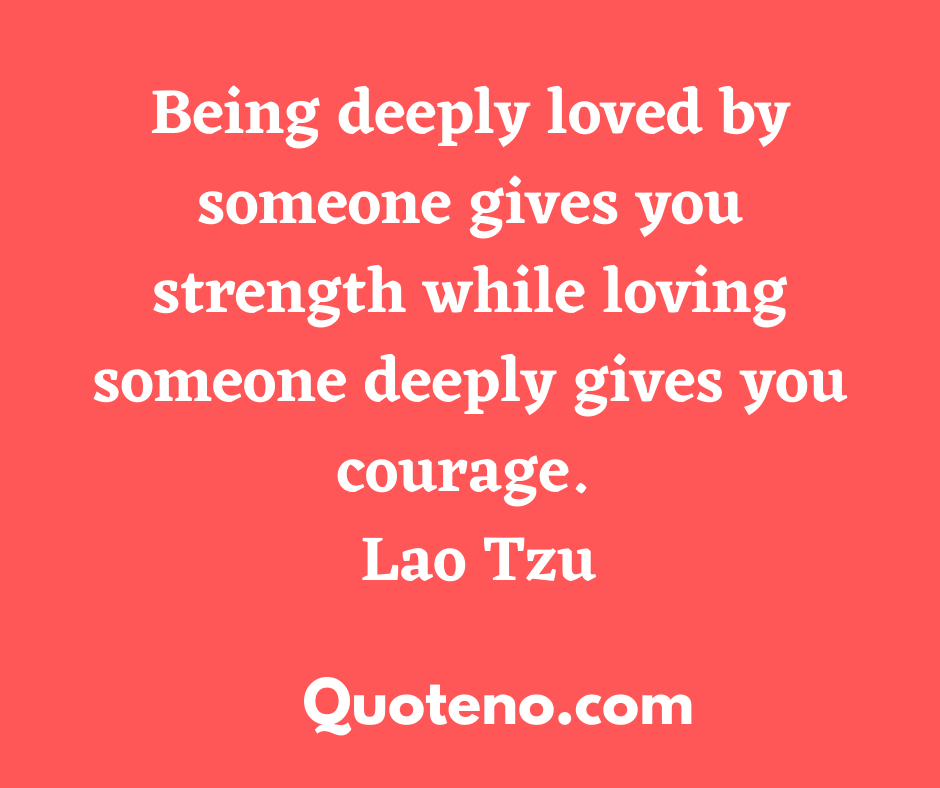 emotional quotes on love - Lao Tzu