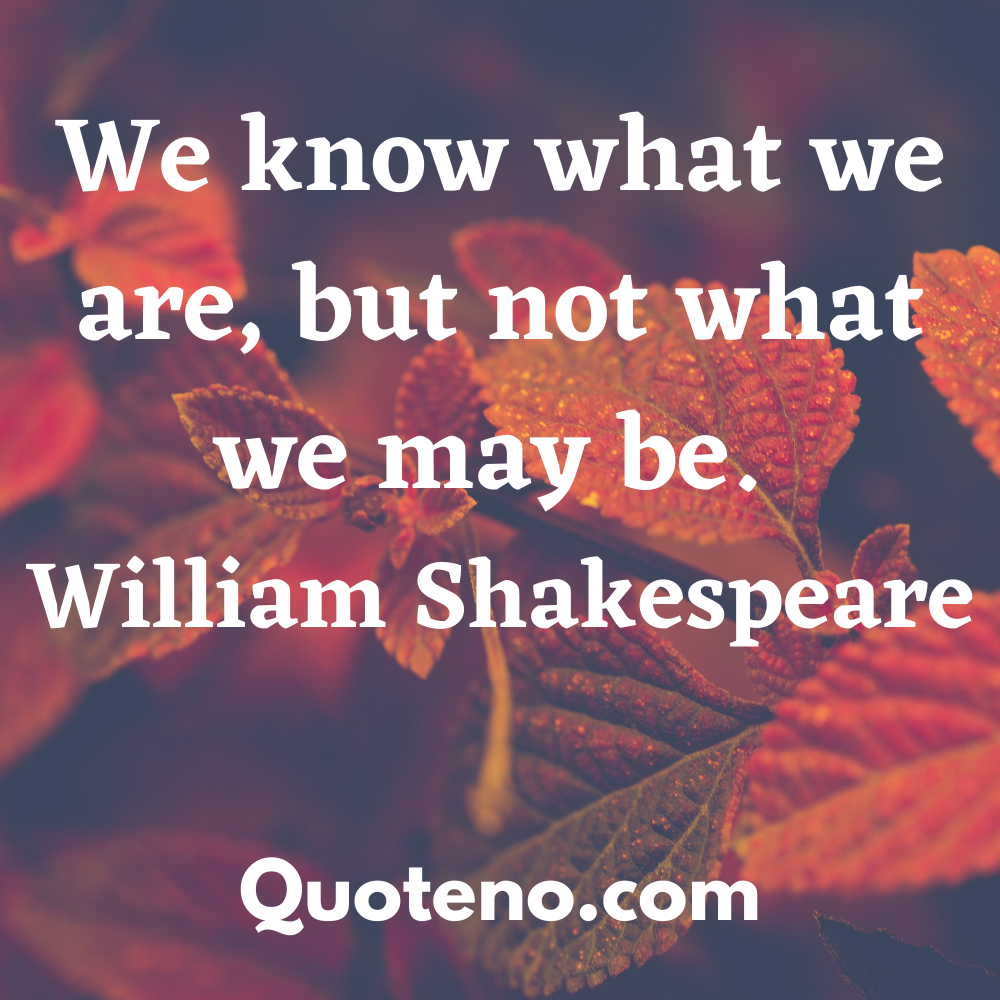famous quotes Shakespeare