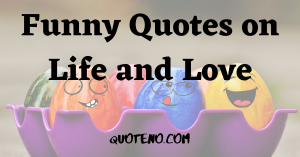 funny quotes on life and love