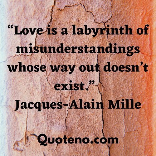 Misunderstanding quotes in relationship