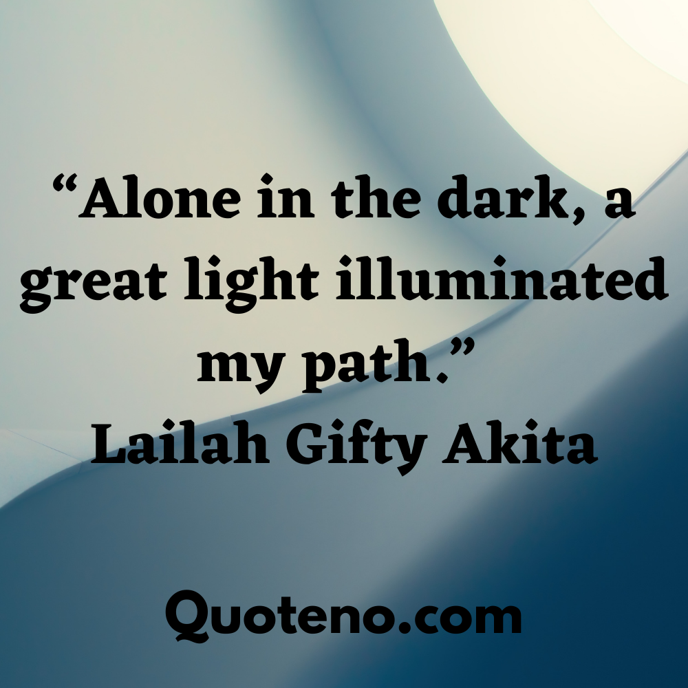 quotes on walk alone