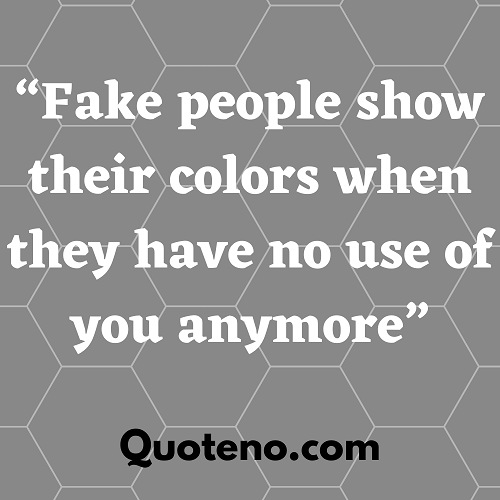 fuck fake people quotes