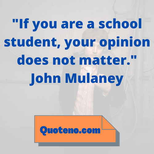 john mulaney quotes about school