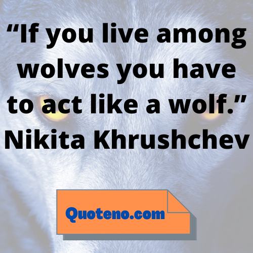wolves quotes short