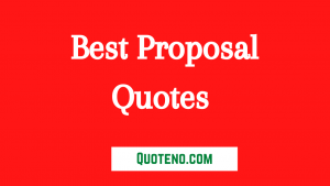proposal quotes