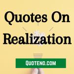 realization quotes