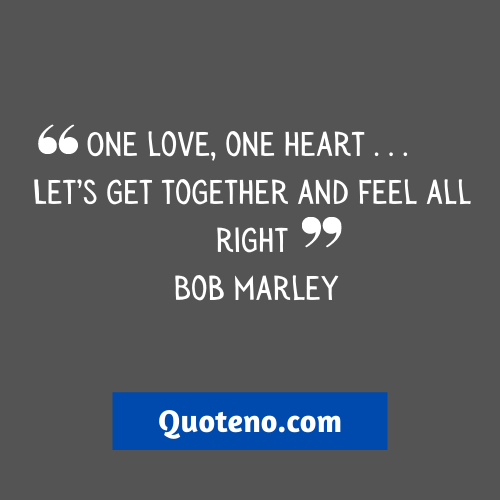 Love And Unity Quotes