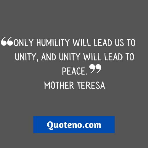 Peace And Unity Quotes