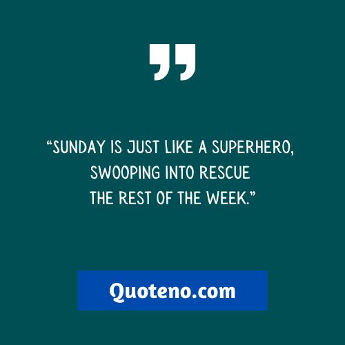 Best funny Sunday quotes