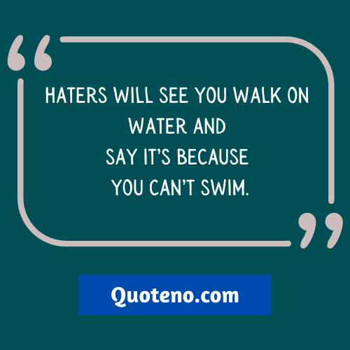 Short Insulting Quotes For Haters