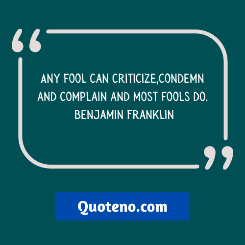 quotes on criticism