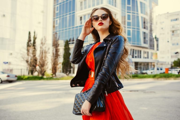 leather jacket for women or men